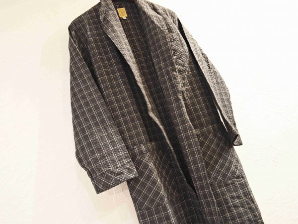 LONG GOWN 【CHACOAL】 / SUNDAY WORKS