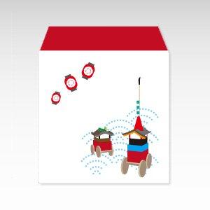 祇園祭/コイン(硬貨)用ぽち袋(小)5枚