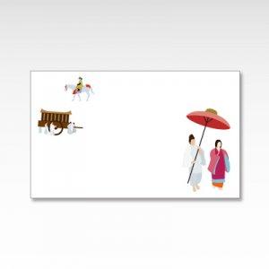 時代祭 /メッセージカード 10枚入