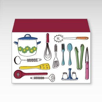 キッチン用品/横型プチ封筒 5枚入