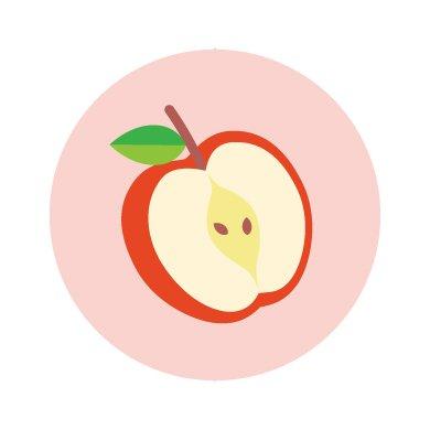 フルーツパラダイス/シール5枚セット