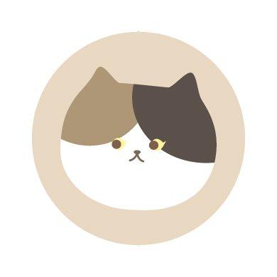 ニャーフェイス/シール5枚セット