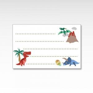 恐竜/メッセージカード 10枚
