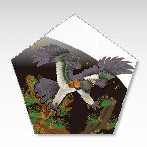 鷹と松/一言箋