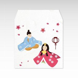 ひなまつり/和紙ぽち袋(小) 5枚入