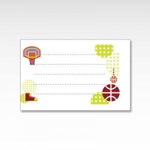 バスケットボール/メッセージカード 10枚入