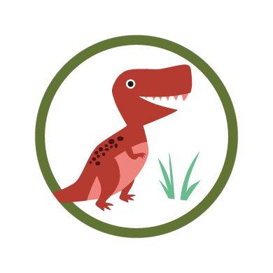 恐竜/シール5枚セット