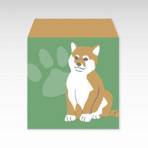 柴犬/ぽち袋(小) 5枚入
