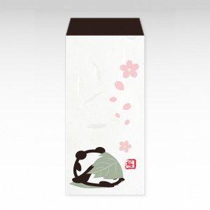 桜もちパンダ/ ぽち袋特大3枚