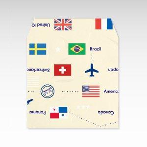 国旗/和紙ぽち袋(小) 5枚入