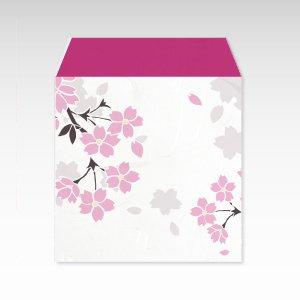桜吹雪/和紙ぽち袋(小) 5枚入