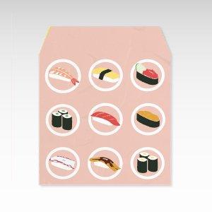 寿司くいねぇ/和紙ぽち袋(小) 5枚入