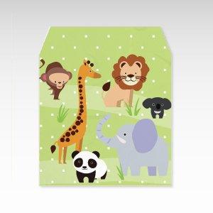 動物園/和紙ぽち袋(小) 5枚入