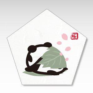 桜もちパンダ/一言箋