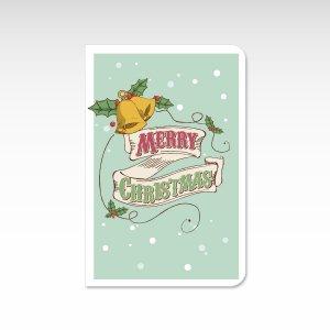 ジングルベル【クリスマスカード】(封筒付き)グリーティングカード