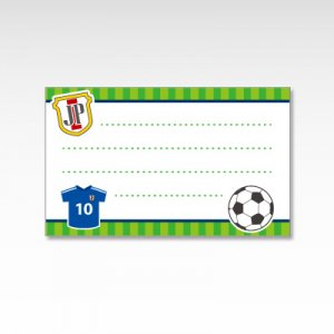 サッカー部/メッセージカード 10枚