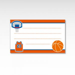 バスケットボール部/メッセージカード 10枚