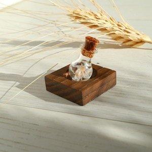 【アロマの小瓶】ディスプレイ用の木製スタンド1連