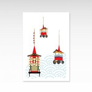 祇園祭2/ポストカード