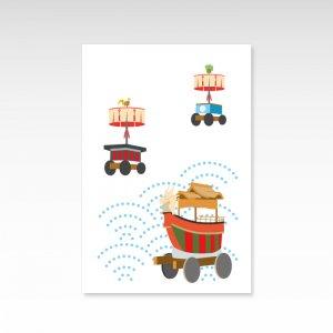 祇園祭3/ポストカード