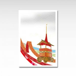 【2020年】祇園祭 グレー/ポストカード