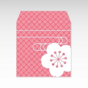 さくらさく(桜咲く)/コイン(硬貨)用ぽち袋(小)5枚
