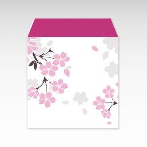 桜吹雪/コイン(硬貨)用ぽち袋(小)5枚