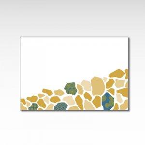 「石畳・青」/ポストカード