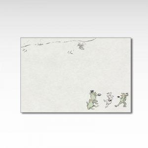 「鳥獣食事戯画」/ポストカード
