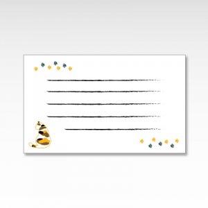 三毛猫(みけ猫休憩)/メッセージカード 10枚