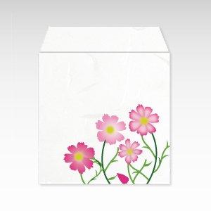 10月 秋桜(コスモス)/コイン(硬貨)用ぽち袋(小)5枚【和紙製】『花暦シリーズ』