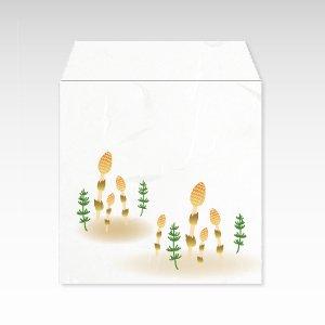 3月 土筆(つくし・ツクシ)/コイン(硬貨)用ぽち袋(小)5枚【和紙製】『花暦シリーズ』