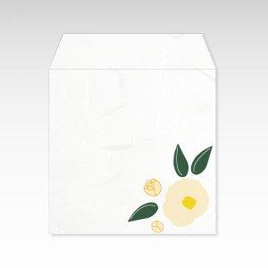 1月 白椿(ツバキ)/コイン(硬貨)用ぽち袋(小)5枚【和紙製】『花暦シリーズ』