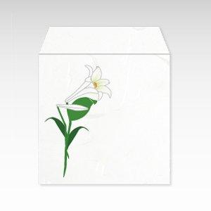 7月 百合(ユリ)/コイン(硬貨)用ぽち袋(小)5枚【和紙製】『花暦シリーズ』