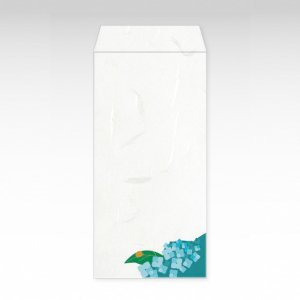 6月 紫陽花(あじさい)/お札用ぽち袋(大)3枚【和紙製】『花暦シリーズ』