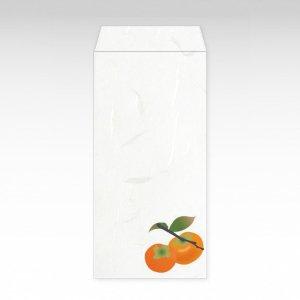 11月 柿(カキ)/お札用ぽち袋(大)3枚【和紙製】『花暦シリーズ』