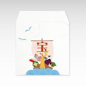 宝船/和紙ぽち袋(小) 5枚入