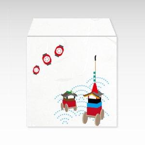 祇園祭/コイン(硬貨)用ぽち袋(小)5枚【和紙製】