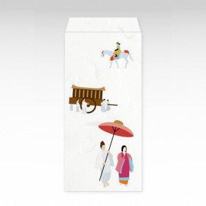 時代祭/お札用ぽち袋(大)3枚【和紙製】『京 風物詩』