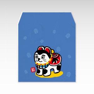 こまいぬ(狛犬張子・こま犬)/コイン(硬貨)用ぽち袋(小)5枚【和紙製】