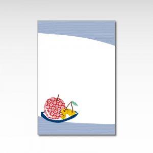 りんごとさくらんぼ/ポストカード