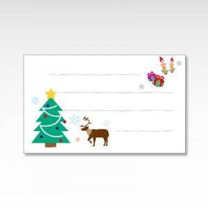 クリスマス/メッセージカード 10枚