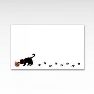 鈴猫/メッセージカード 10枚