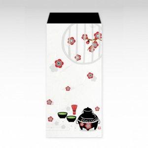 あ〜ら、お茶/お札用ぽち袋(大)3枚【和紙製】