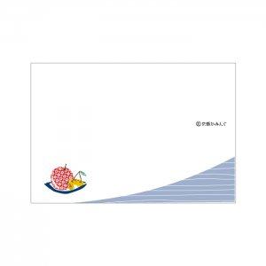 「りんごとさくらんぼ」家庭用ランチョンマット/10枚〜