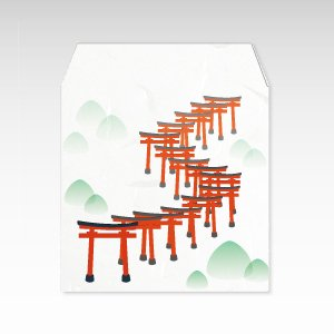 千本鳥居/ぽち袋(小) 5枚