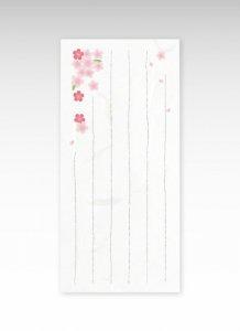 和紙一筆箋 桜/6枚入