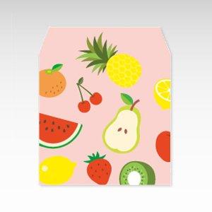 フルーツパラダイス(果物)/コイン(硬貨)用ぽち袋(小)5枚