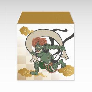 風神/コイン(硬貨)用ぽち袋(小)5枚【和紙製】