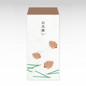 松ぼっくり『お見舞い』/お札用ぽち袋(大)3枚【和紙製】『お祝い袋』